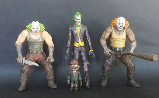 Lote X3 Figuras Batman Arkham - Dc Comics - Los Germanes
