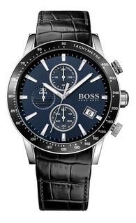 Reloj Hugo Boss Rafale Hb1513391 Azul Cuarzo Cuero