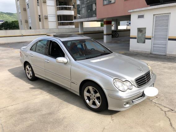 Mercedes Benz C200 2006 Com Baixa Kilometragem