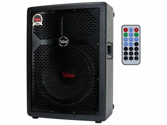 Caixa Som Amplificada Leacs Fit160a 150w Rms Usb Bluetooth