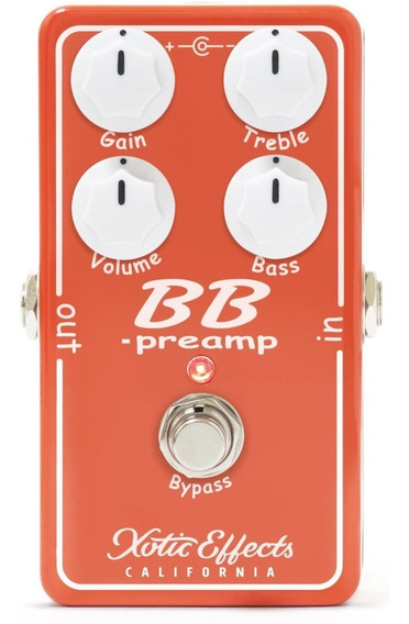 Pedal Xotic Bb Preamp Overdrive V1.5 Original Usa C/ Nf-e