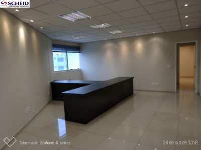 Sala Comercial Em Condominio Moderno - Mc6195