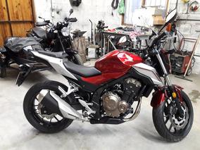 Moto Honda Cb500f Nueva 28 Kms - Sólo Venta Efectivo