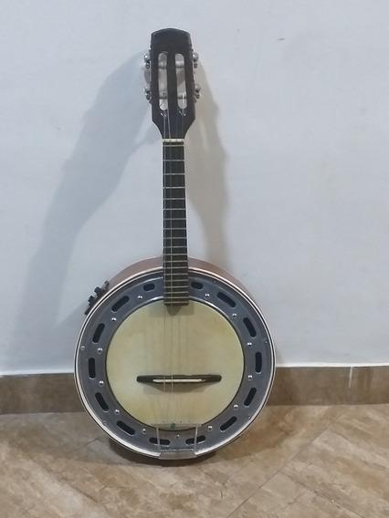 Banjo Elétrico Captação Dupla