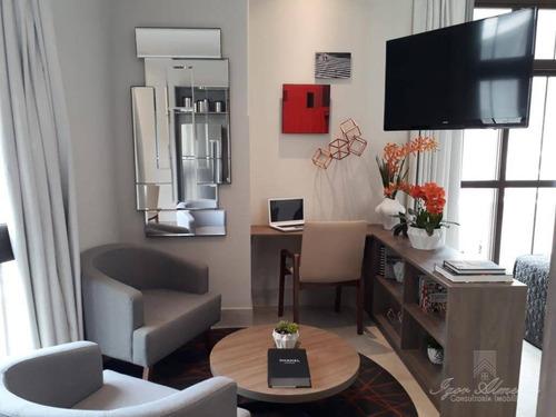 Imagem 1 de 7 de Studio Com 1 Dormitório À Venda, 31 M² Por R$ 339.000,00 - Centro - São Paulo/sp - St0064