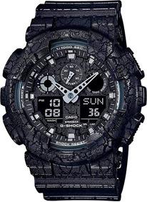 Relógio Casio G-shock Ga-100cg-1adr Resistente A Choques