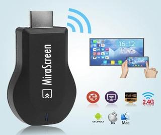 Convertidor Smart Tv Mirascreen Chromecast Apple Tv, Airplay