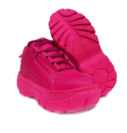 Tênis Bf Sneaker Plataforma Blogueira Feminino Moda