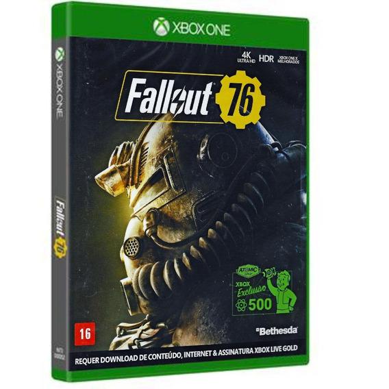 Fallout 76 - Xbox One ( Novo, Lacrado, Mídia Física)