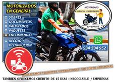 Motorizado *courier Personalizado*
