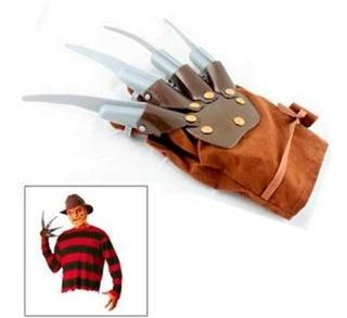 Freddy Pesadilla Terror Pelicula Cosplay Guante Garra