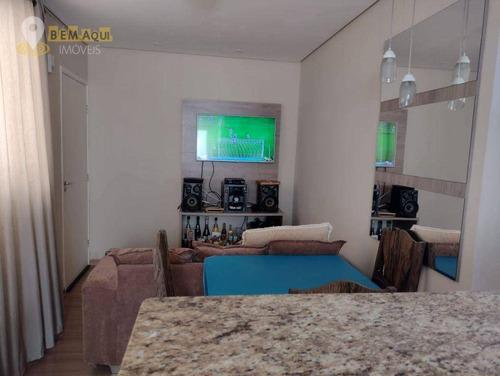 Imagem 1 de 8 de Apartamento À Venda, 44 M² Por R$ 190.000,00 - Edifício Parque Ilha De Páscoa - Itu/sp - Ap0362