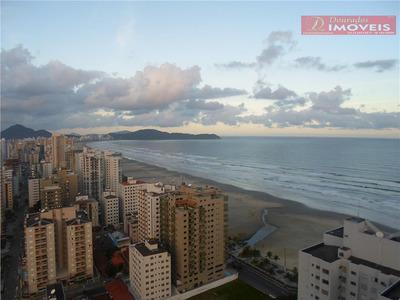 Apartamento Com Vista Do Mar De 03 Suítes Em Praia Grande, Litoral Sul - Ap0199