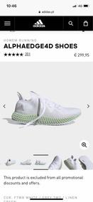 Tenis adidas Alphaedge 4d