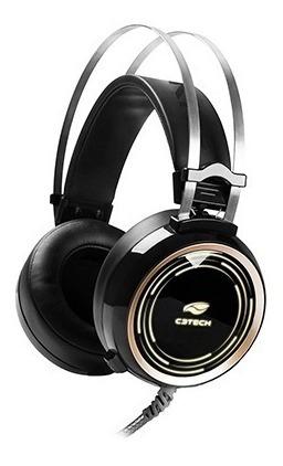 Headset Gamer C3tech P2, Usb, Preto Rgb Black Kite Ph-g310bk