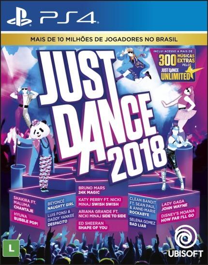 Just Dance 2018 (mídia Física Em Pt-br) - Ps4