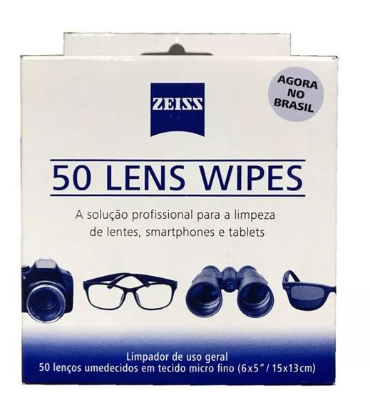 Lens Wipes Zeiss Com 100 Lenços Umedecidos Envio Hoje Mesmo!