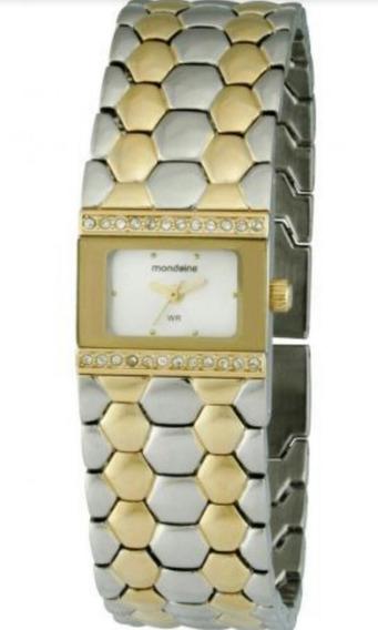 Relógio Tipo Pulseira Feminino Mondaine 94320lpmnbm2 Analóg