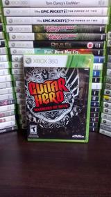 Guitar Hero Warriors Of Rock Xbox 360 Frete 12