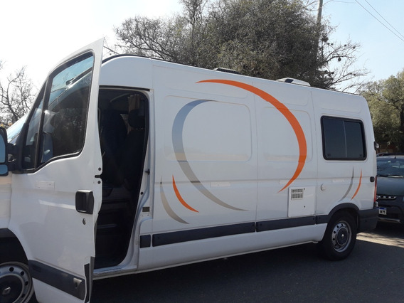 Motorhome Renault Master 2013 Impecable Casi Sin Uso