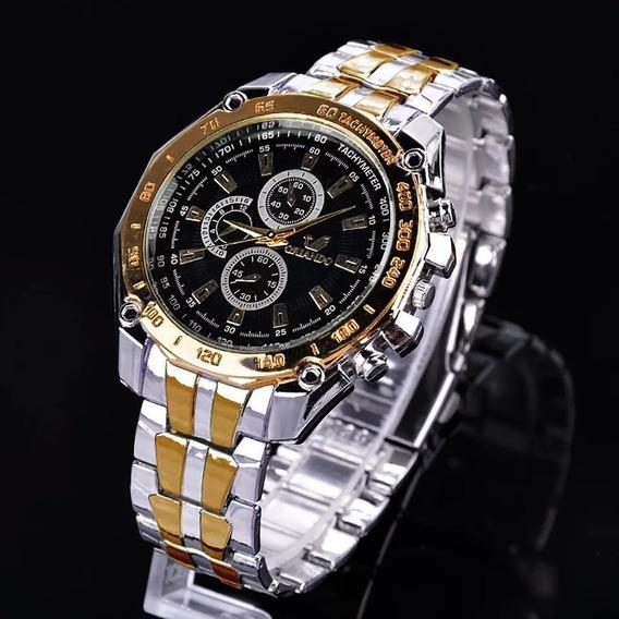 Relógio Orlando Masculino Prata&ouro