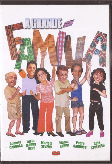 Dvd Original A Grande Família