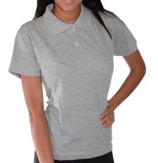 Camisa Pólo Feminina Camiseta Pólo Piquet Uniforme Ou Bordar