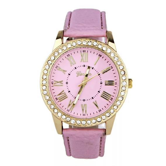 3 Relógios Femininos P/as Mulheres Relógios Rosa Branco Az