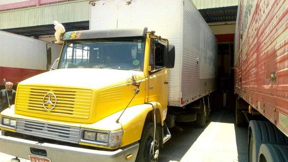 Mb 1418 Truck Baú Plataforma