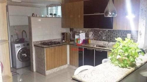 Cobertura Com 3 Dormitórios À Venda, 110 M²  Atlântica - Rio Das Ostras/rj - Co0129
