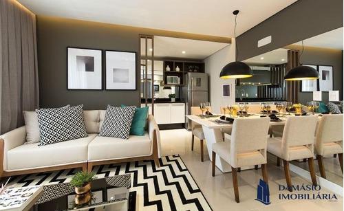 Apartamento Novo Decorado 2 Dormitórios 65,33m² - Var0158