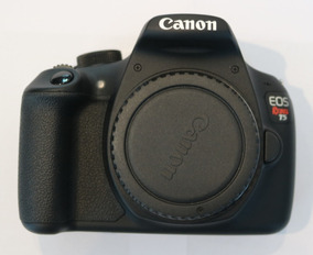 Canon Eos Rebel T5 + Lente Ef-s 18-55mm | Câmera Fotográfica