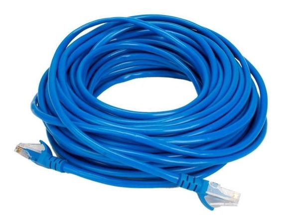 Cable Internet Cat5e Netmak 20 Mts 1000mbps Azul 4 Pares I9