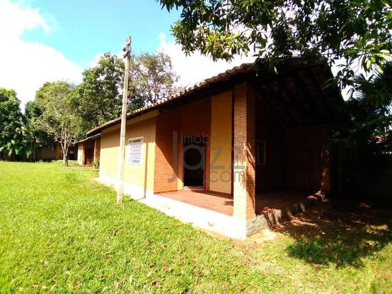 Primorosa Chácara Com 2 Casas Construídas Na Região De Barão Geraldo, Chácara Santa Margarida - Ch0063