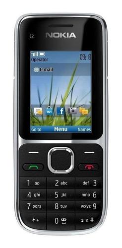 Celular Nokia C2-01 Preto - 1 Chip