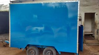 Trailer Tipo Food Truck Novo 0km, Recém Confeccionado.