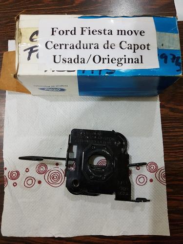 Imagen 1 de 4 de Cerradura De Capot Ford Fiesta, Eco Sport Usada (b0)