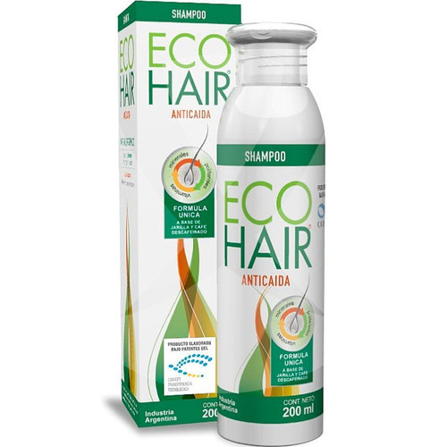 Imagen 1 de 1 de Shampoo Ecohair 200ml