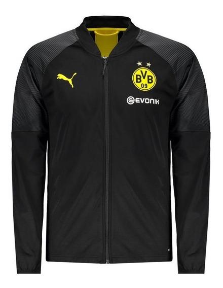 Jaqueta Puma Borussia Dortmund Preta