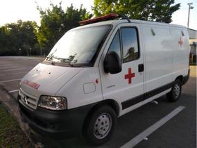 *ambulância Citroën Jumper Ano 2014 Com 45.100km Novissima*