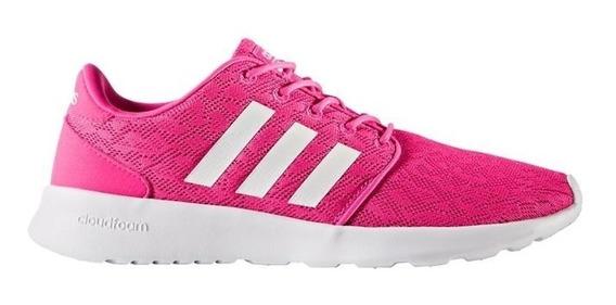 Tenis adidas Mujer Rosa Cf Qt Racer W Bb9847