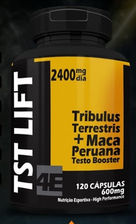 Tst Lift - Alta Potência - 4e Smart Nutrition - 120 Caps