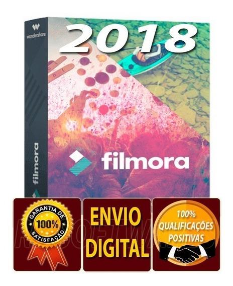 Filmora 2018 O Editor De Vídeo Usado Pelos Profissionais