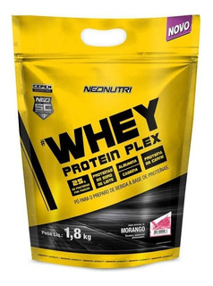 Whey Protein Plex 1,8kg - Morango