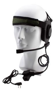 Fone De Ouvido E Ptt U94 Elite Headset Rádio Baofeng Uv-5