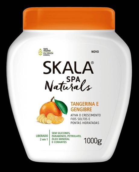 Crema Skala De Tratamiento Tangerina E Jengibre Brasilera