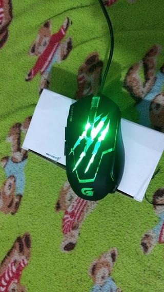 *mouse Gamer Fortrek Raptor Series Usb 6 Botões 3200dpi Om80