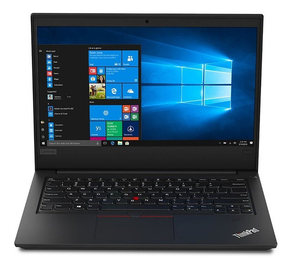Thinkpad E490 I5-8265u 8gb Ssd 256gb Win 10 Pro 20n9a013br