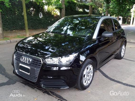 Audi A1 Attraction 1.2 Tfsi 2013 3 Ptas Negro Primera Mano