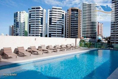 Loft Com 1 Dormitório À Venda, 55 M² Por R$ 315.000 - Pituba - Salvador/ba - Lf0001